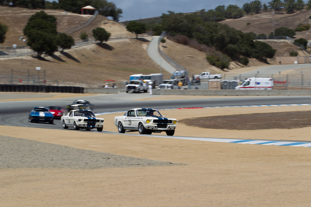 Ford Shelby Mustang GT350 - Chassis: SFM5S029 - Driver: Bruce Kawaguchi  - 2015 Monterey Motorsports Reunion