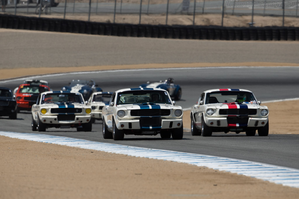Ford Shelby Mustang GT350 - Chassis: SFM5S134 - Driver: David Dralle  - 2015 Monterey Motorsports Reunion