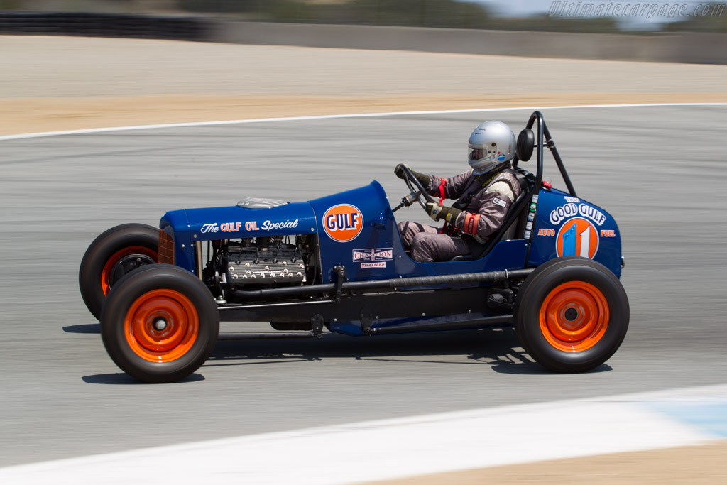 Ford Sprint Car  - Driver: Max Jamieson  - 2015 Monterey Motorsports Reunion