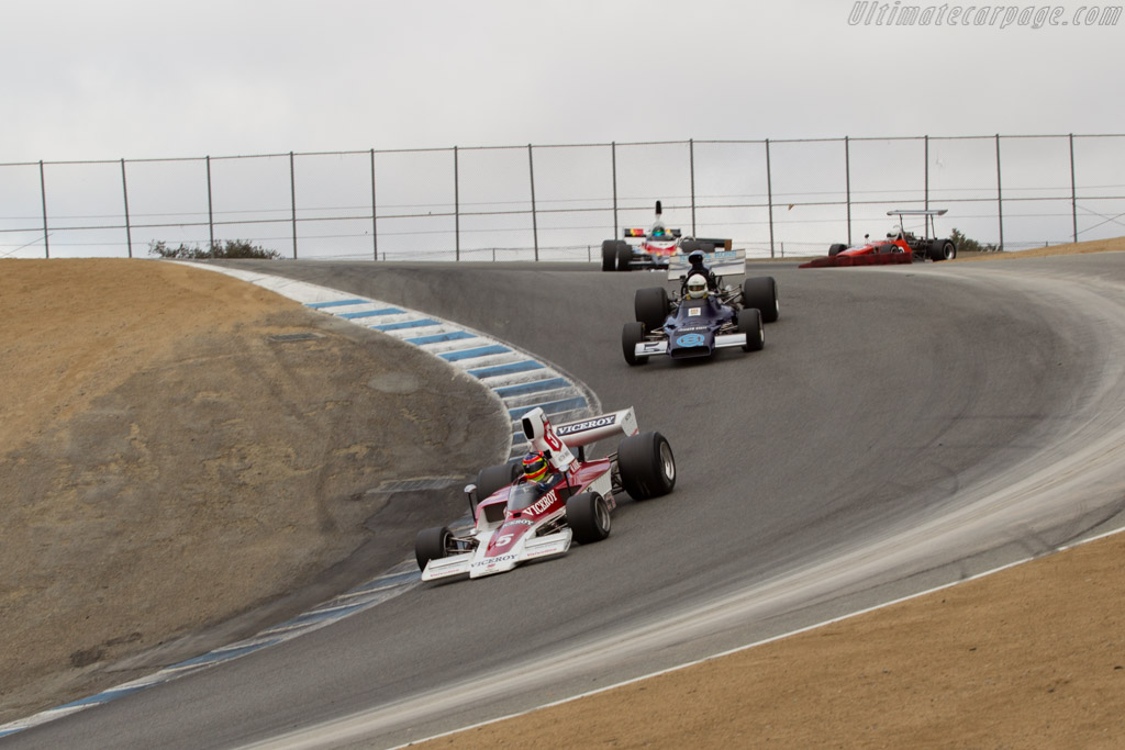 Lola T332 - Chassis: HU17 - Driver: Zak Brown  - 2015 Monterey Motorsports Reunion