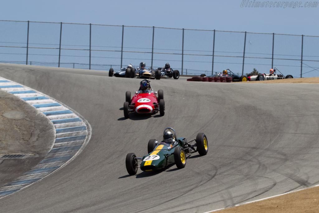 Lotus 27 - Chassis: 27/JM/22 - Driver: Chris Locke  - 2015 Monterey Motorsports Reunion