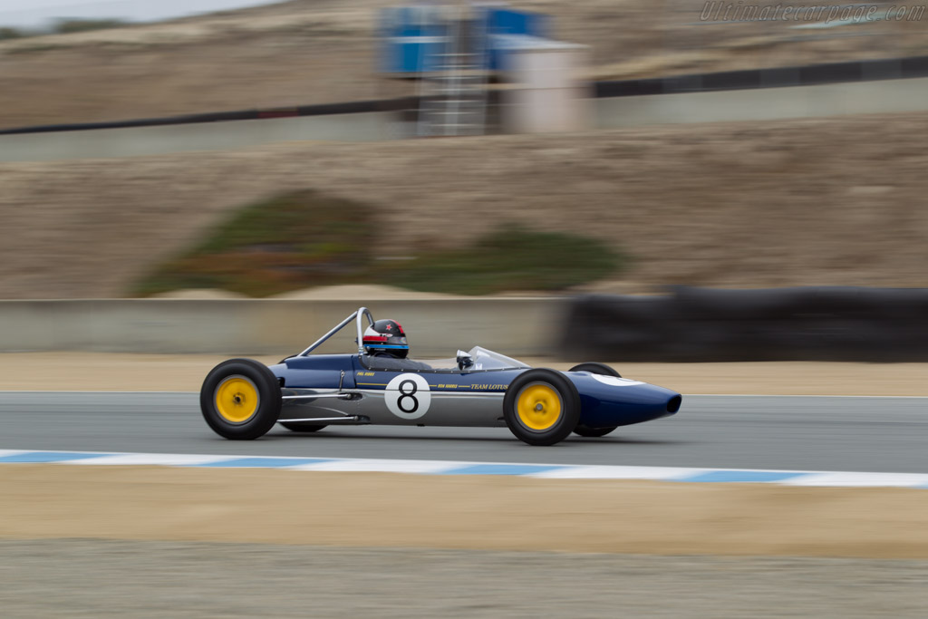 Lotus 27 - Chassis: 27/JM/1 - Driver: Philip Ribbs  - 2015 Monterey Motorsports Reunion