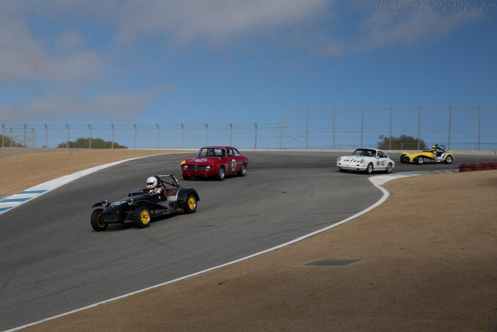 Lotus 7 - Chassis: SB2000 - Driver: Robert Davis  - 2015 Monterey Motorsports Reunion