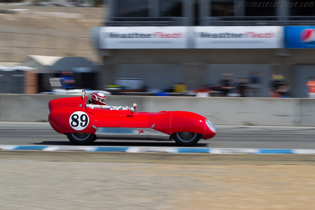 Lotus Eleven - Chassis: 259 - Driver: John Hurabiell  - 2015 Monterey Motorsports Reunion