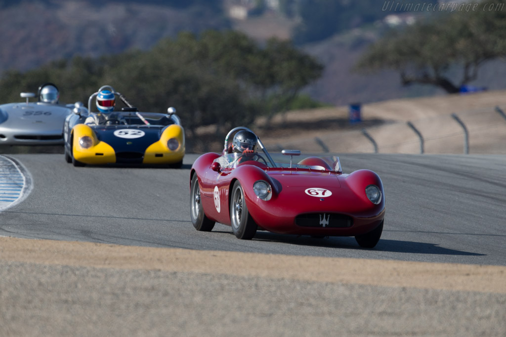 Maserati 200Si - Chassis: 2425 - Driver: Ned Spieker  - 2015 Monterey Motorsports Reunion