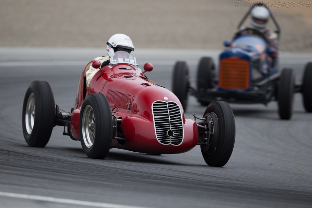 Maserati 4CL - Chassis: 1564 - Entrant: Paddins Dowling - Driver: Stephen Curtis  - 2015 Monterey Motorsports Reunion