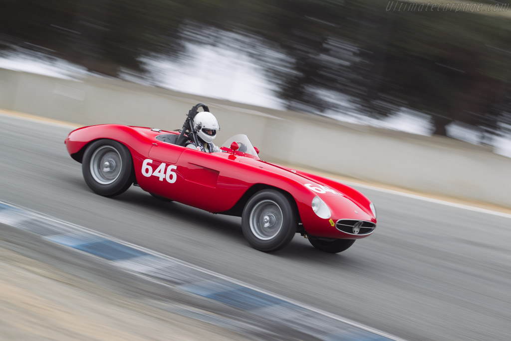 Maserati A6GCS/53 - Chassis: 2099 - Driver: Mathias Sielecki - 2015 Monterey Motorsports Reunion