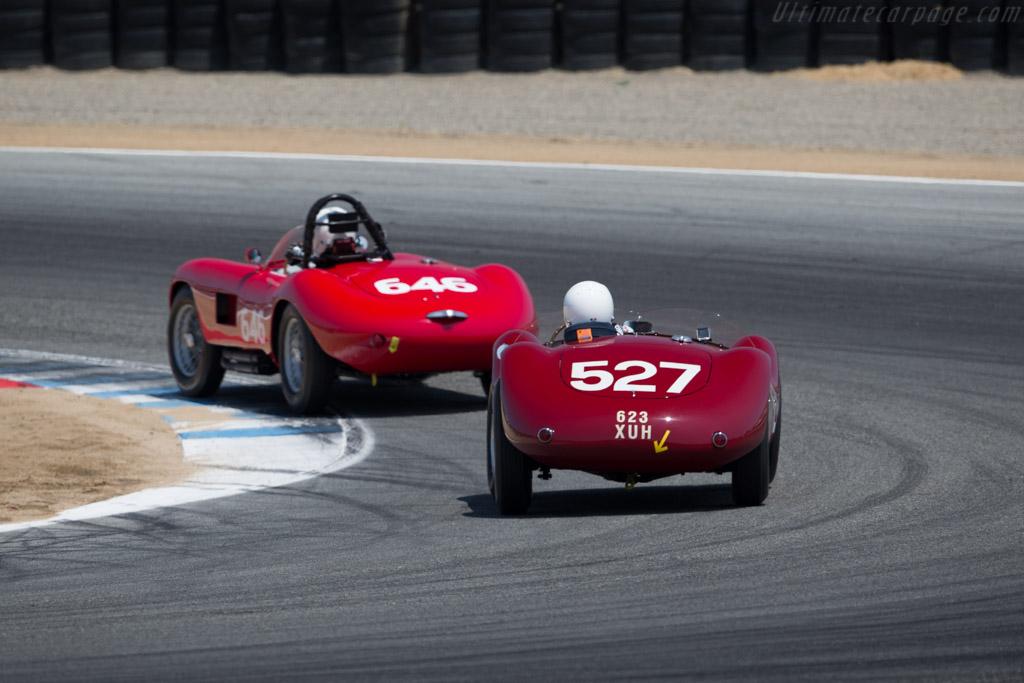 Maserati A6GCS/53 - Chassis: 2066 - Driver: Adrian Sucari  - 2015 Monterey Motorsports Reunion