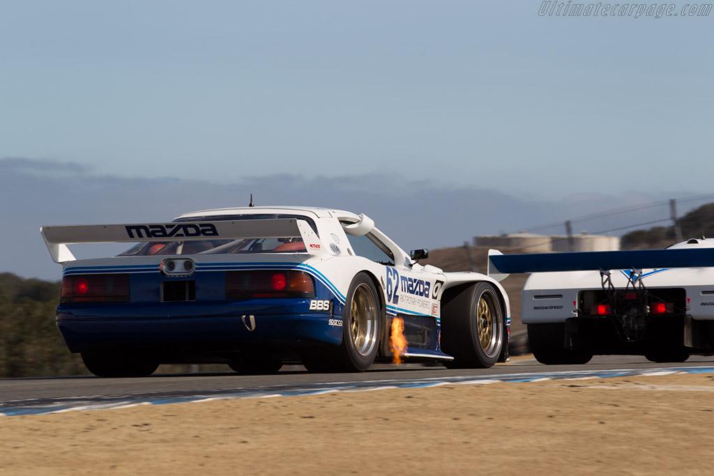 Mazda RX-7 GTO - Chassis: GTO 001 - Entrant: Mazda N.A. - Driver: Jeremy Barnes  - 2015 Monterey Motorsports Reunion