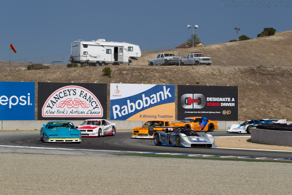 Mazda RX-792P - Chassis: GTP 001 - Entrant: Mazda N.A. - Driver: Weldon Munsey  - 2015 Monterey Motorsports Reunion