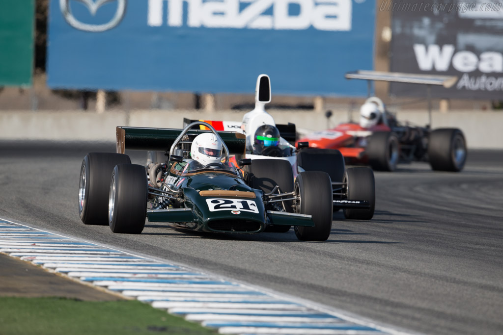 McLaren M10B - Chassis: 400-04 - Driver: Bruce Leeson  - 2015 Monterey Motorsports Reunion