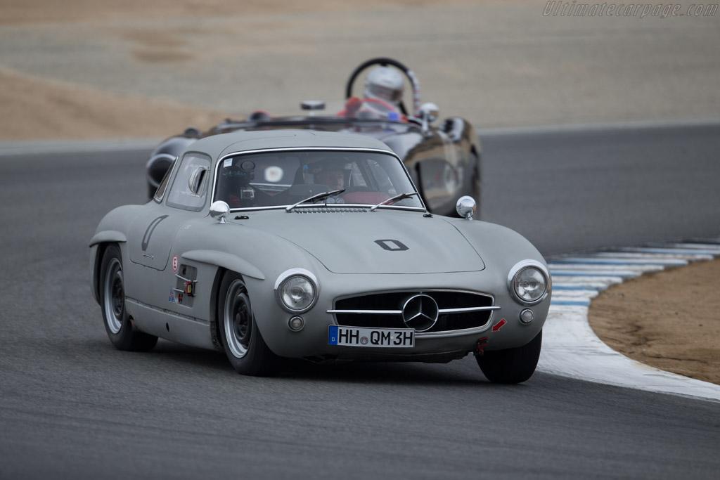 Mercedes-Benz 300 SL - Chassis: 198.040.5500433 - Driver: Hans Kleissl  - 2015 Monterey Motorsports Reunion