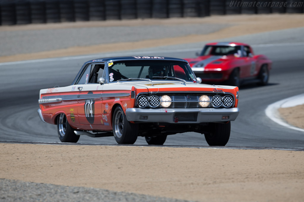 Mercury Comete Caliente - Chassis: 4H23F567165 - Driver: Roland Malschafsky  - 2015 Monterey Motorsports Reunion