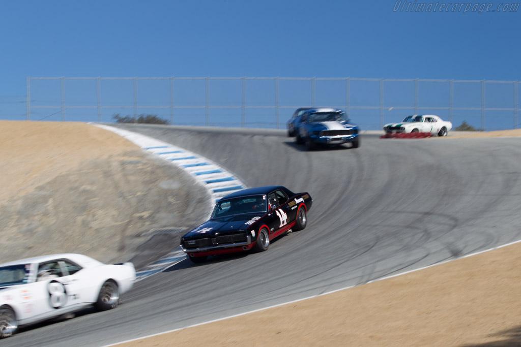 Mercury Cougar  - Driver: Ike Keeler  - 2015 Monterey Motorsports Reunion