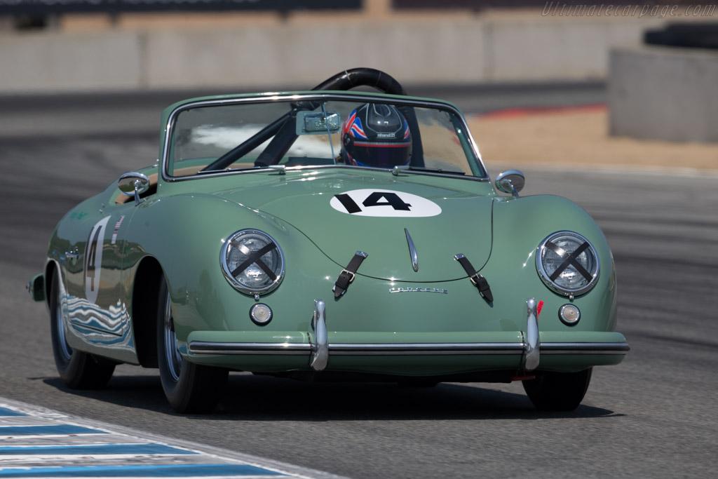 Porsche 356 America  - Driver: Andy Prill  - 2015 Monterey Motorsports Reunion