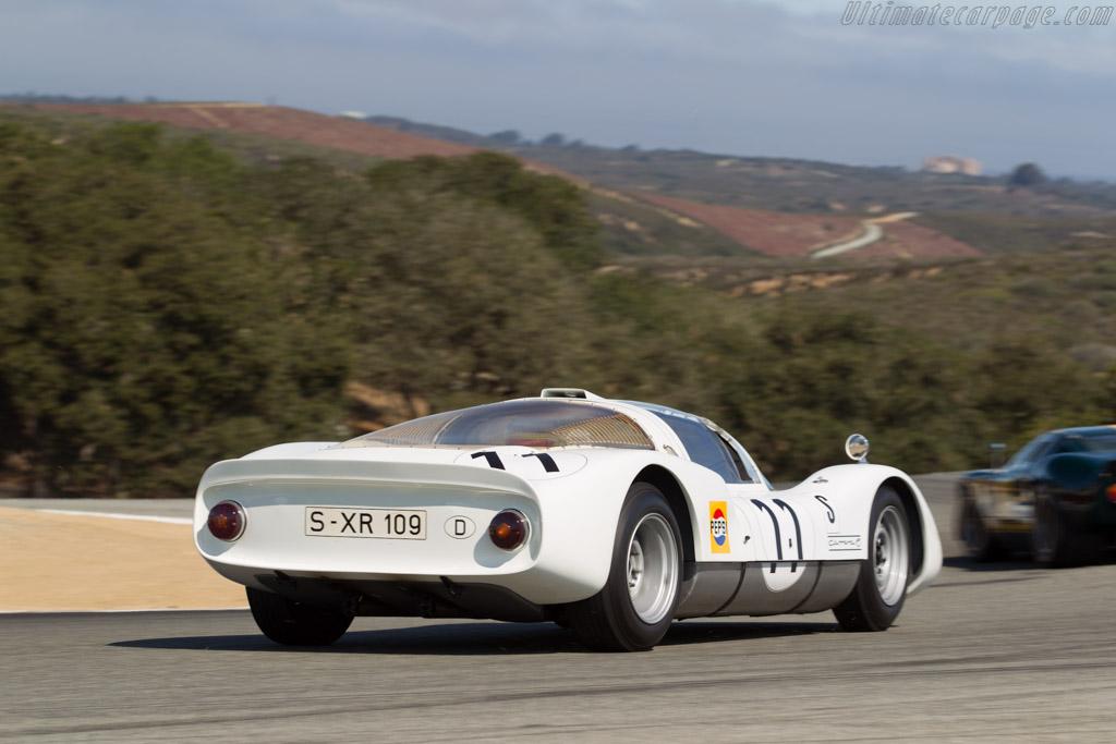 Porsche 906 - Chassis: 906-109 - Driver: Jeff Zwart  - 2015 Monterey Motorsports Reunion