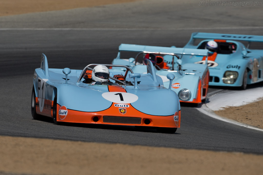 Porsche 908/3 - Chassis: 908/03-013 - Entrant: The Revs Institute - Driver: John Morton  - 2015 Monterey Motorsports Reunion