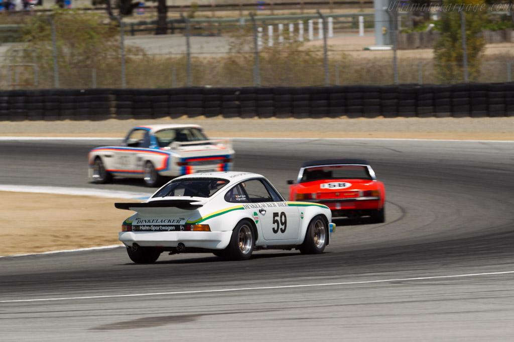 Porsche 911 Carrera RS 3.0 - Chassis: 911 460 9089 - Driver: John-Frank Dirickx  - 2015 Monterey Motorsports Reunion