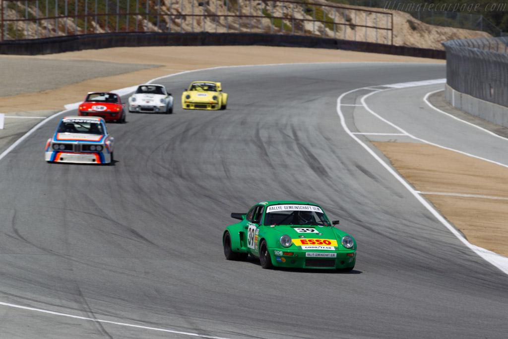 Porsche 911 Carrera RSR 3.0  - Driver: Dennis Singleton  - 2015 Monterey Motorsports Reunion