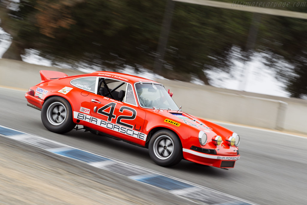 Porsche 911 S - Chassis: 911 230 0032 - Driver: Kevin O Callaghan  - 2015 Monterey Motorsports Reunion