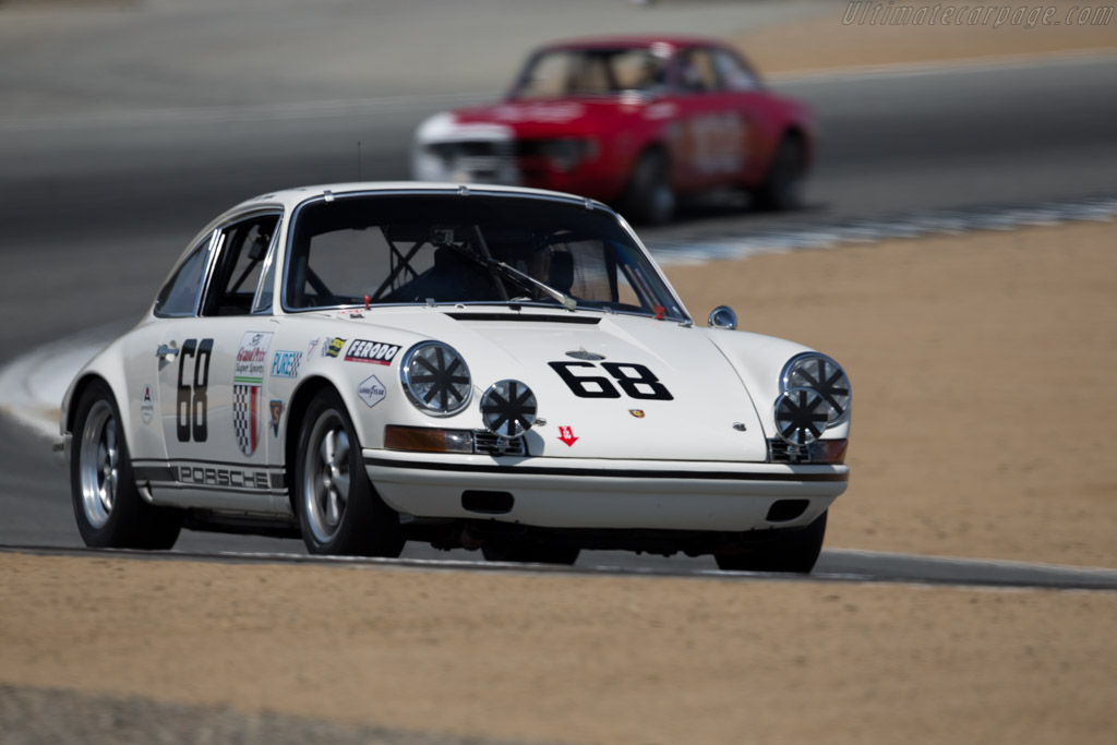 Porsche 911 T/R - Chassis: 118 20 809 - Driver: Alan Benjamin  - 2015 Monterey Motorsports Reunion