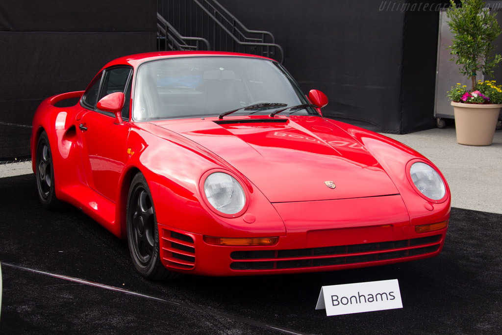 Porsche 959 - Chassis: WP0ZZZ95ZHS900125   - 2015 Monterey Motorsports Reunion