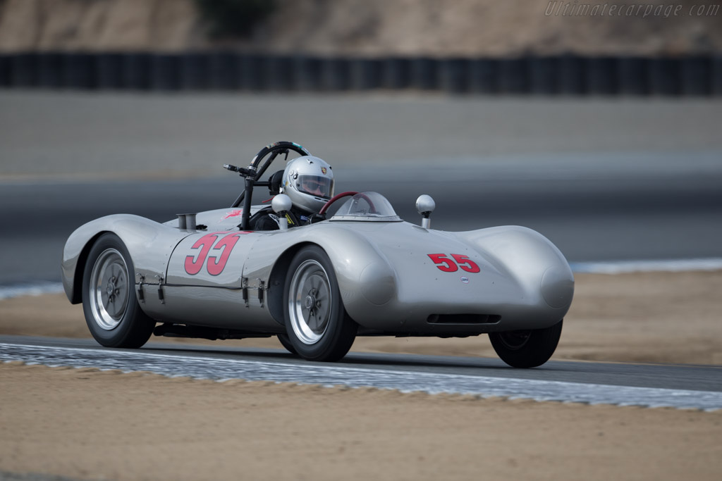 Porsche Cooper 'Pooper' - Chassis: Mk7-7-53 - Driver: Cameron Healy  - 2015 Monterey Motorsports Reunion