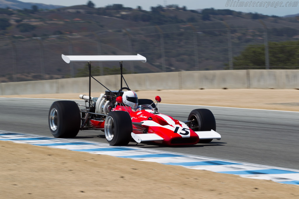 Surtees TS5 - Chassis: TS5-4 - Driver: Mark Hammer  - 2015 Monterey Motorsports Reunion