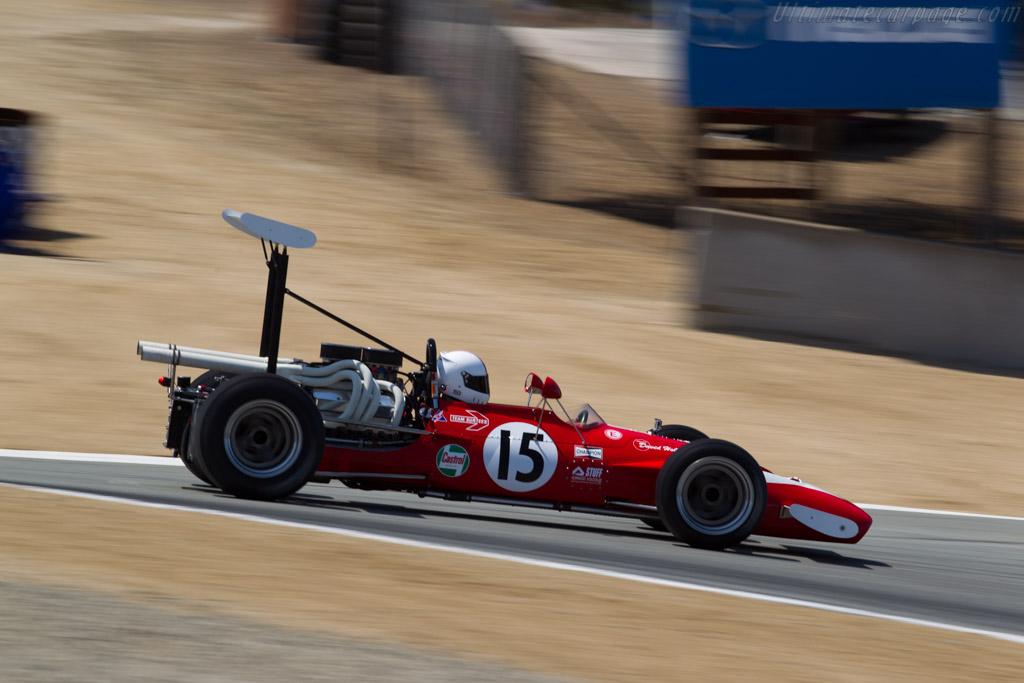 Surtees TS5 - Chassis: TS5-4 - Driver: Mark Hammer  - 2015 Monterey Motorsports Reunion