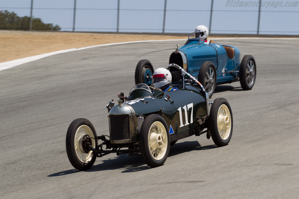 Triumph Special 9 - Chassis: 20582 - Driver: Richard Jeffery  - 2015 Monterey Motorsports Reunion