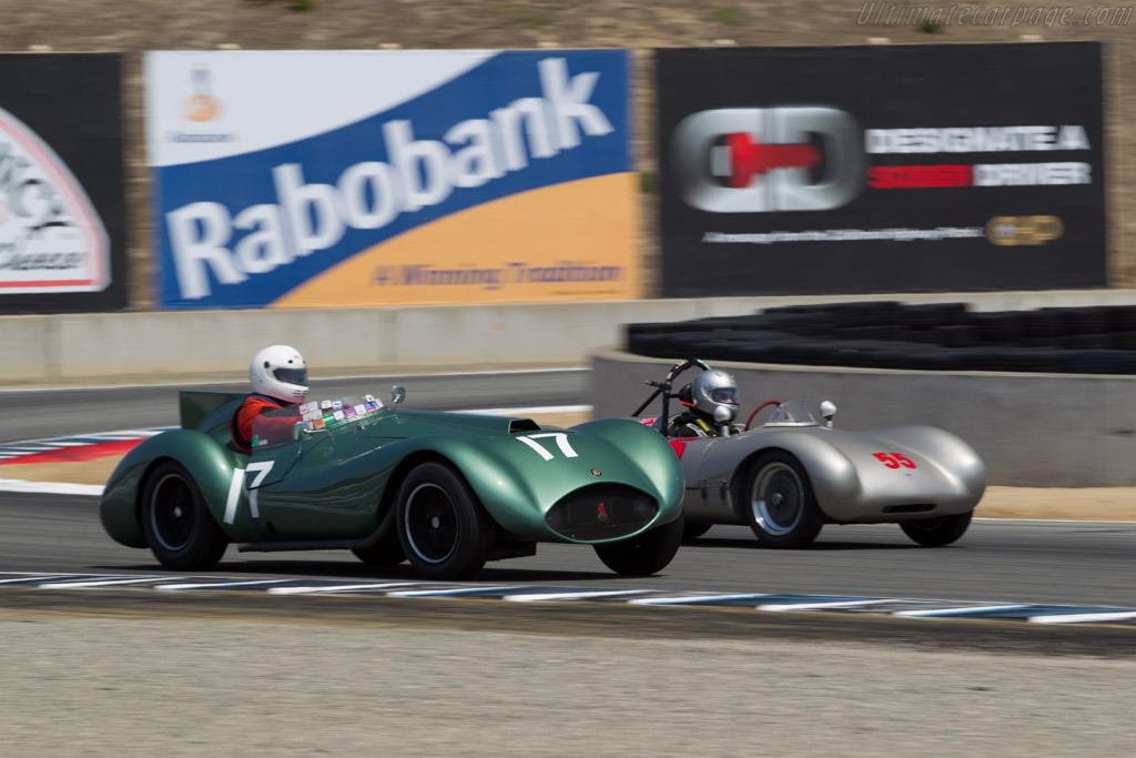 Warrior Bristol - Chassis: BR-001 - Driver: Jack Perkins  - 2015 Monterey Motorsports Reunion