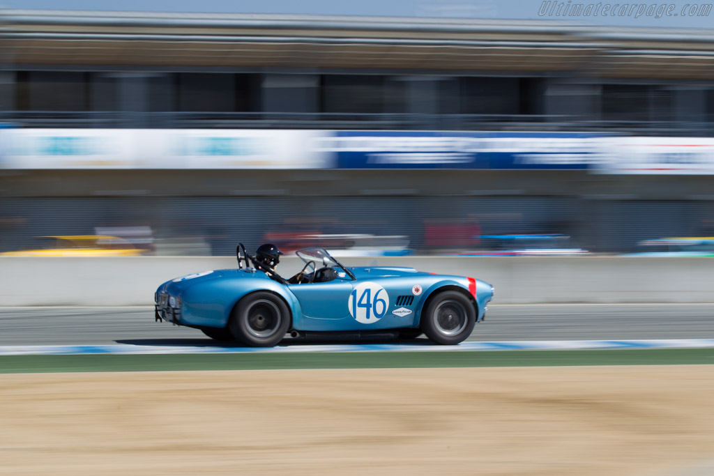 AC Shelby Cobra - Chassis: CSX2323 - Driver: Chris MacAllister  - 2016 Monterey Motorsports Reunion
