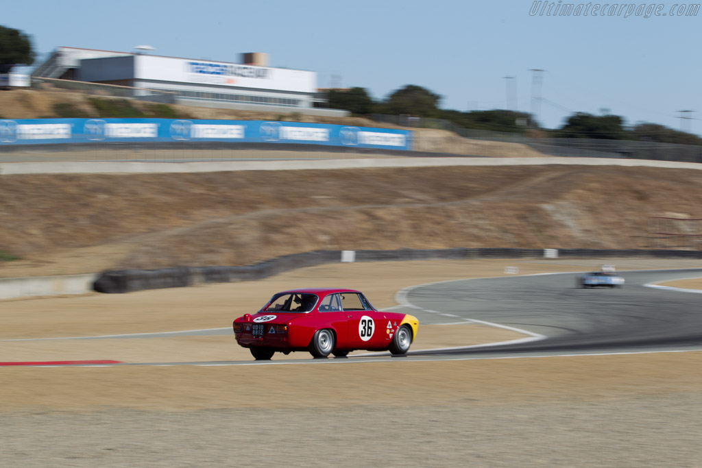 Alfa Romeo GTA - Chassis: AR613006 - Driver: Mark Colbert  - 2016 Monterey Motorsports Reunion
