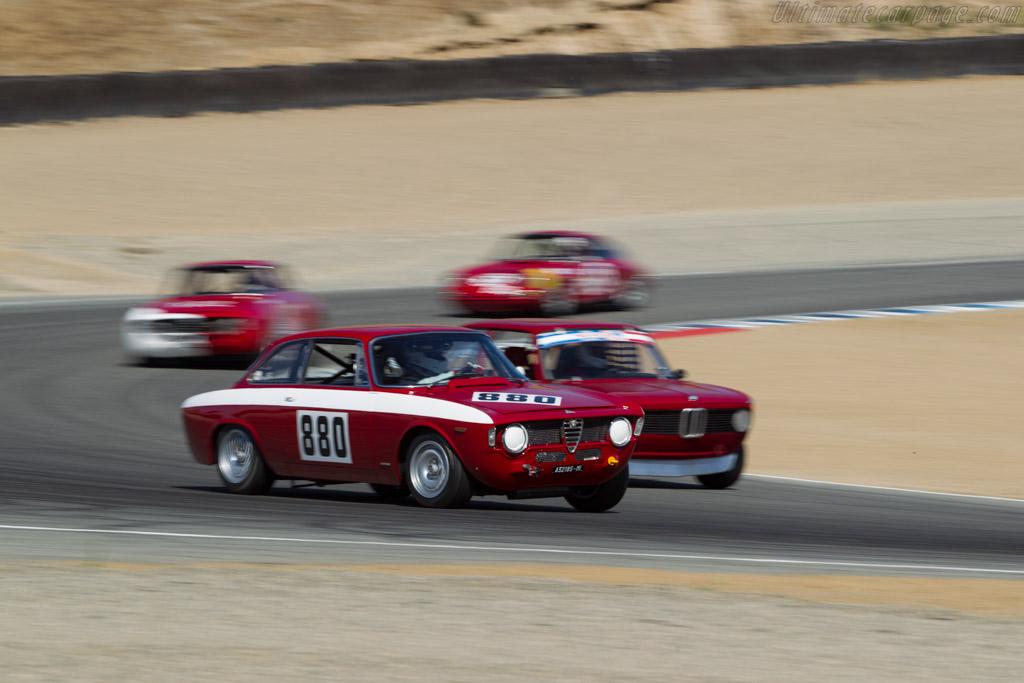 Alfa Romeo GTA - Chassis: AR613880 - Driver: Jeffery Diablo  - 2016 Monterey Motorsports Reunion