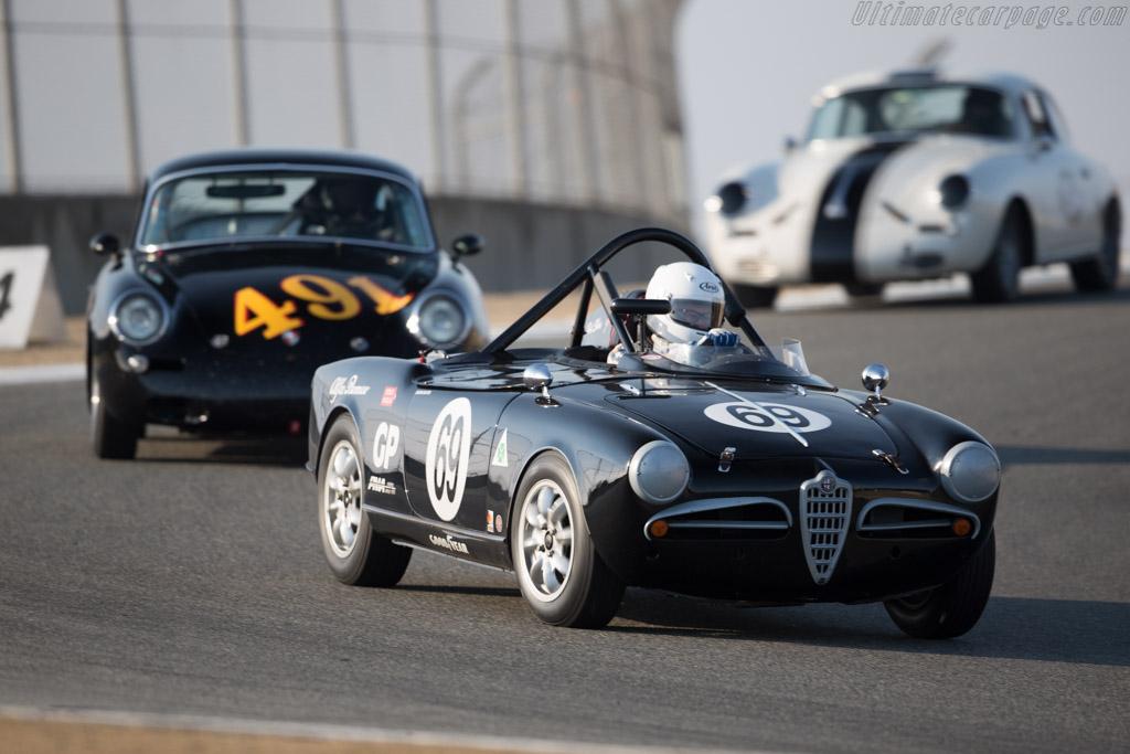 Alfa Romeo Giulietta Spider - Chassis: AR1495-03083 - Driver: Tancredi D'Amore  - 2016 Monterey Motorsports Reunion