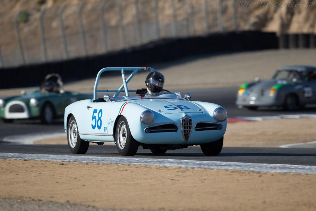 Alfa Romeo Giulietta Spider - Chassis: AR1495-01864 - Driver: Jonathan Burke  - 2016 Monterey Motorsports Reunion