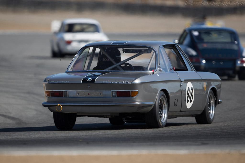 BMW 2000 CS - Chassis: 1100859 - Driver: Damon Desantis  - 2016 Monterey Motorsports Reunion