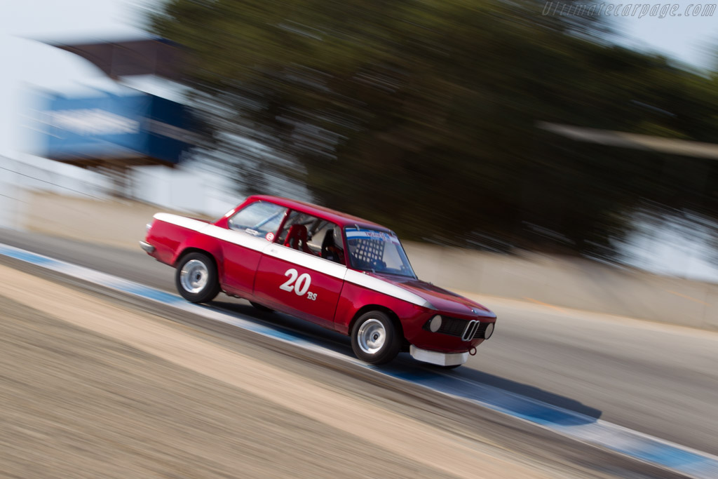 BMW 2002 - Chassis: 2579130 - Driver: Mark Francis  - 2016 Monterey Motorsports Reunion