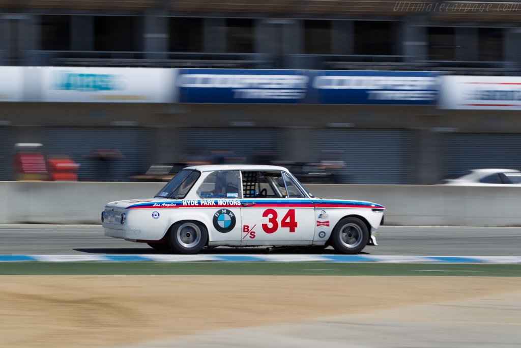 BMW 2002 - Chassis: 1668269 - Driver: Steve Walker  - 2016 Monterey Motorsports Reunion