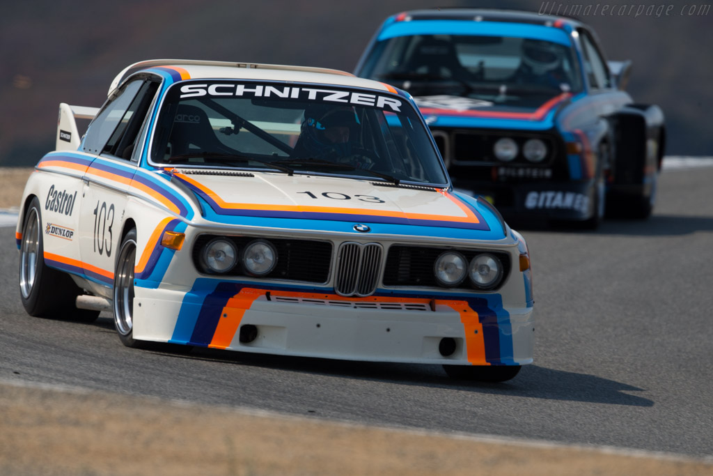 BMW 3.0 CSL - Chassis: 2203281 - Driver: Thor Johnson  - 2016 Monterey Motorsports Reunion
