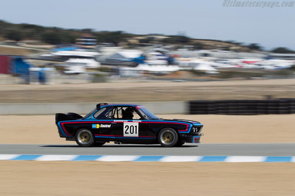 BMW 3.0 CSL  - Driver: Robert Summerour  - 2016 Monterey Motorsports Reunion