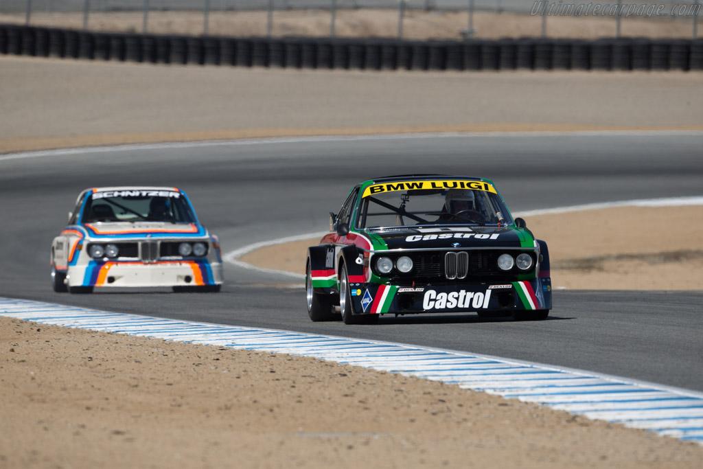 BMW 3.0 CSL Luigi - Chassis: 001 - Driver: Steve Walker  - 2016 Monterey Motorsports Reunion