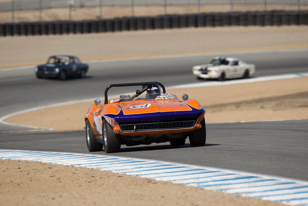 Chevrolet Corvette - Chassis: 40867S121081 - Driver: Jeni Yeakel-Swanson  - 2016 Monterey Motorsports Reunion