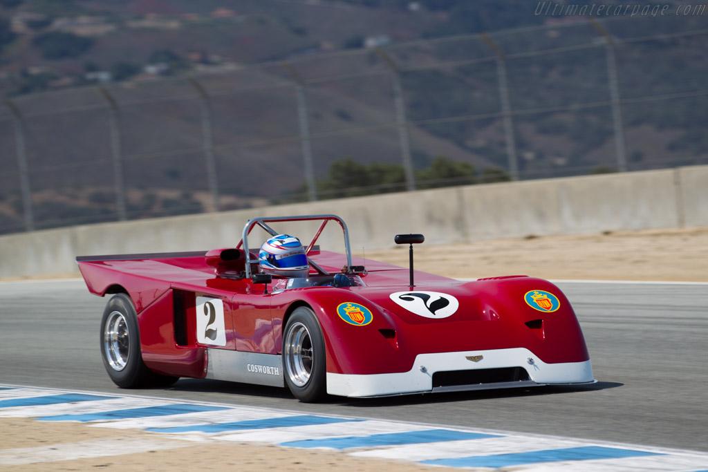 Chevron B19  - Driver: Jonathan Feiber  - 2016 Monterey Motorsports Reunion