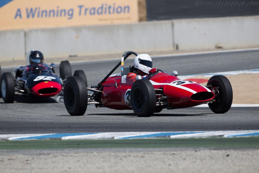 Cooper 59 FJ - Chassis: FJ15/62 - Driver: Jeffrey Rothman  - 2016 Monterey Motorsports Reunion
