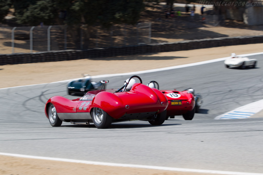 Devin Ryan Sports Roadster - Chassis: SR1957-001 - Driver: Robert Bodin  - 2016 Monterey Motorsports Reunion