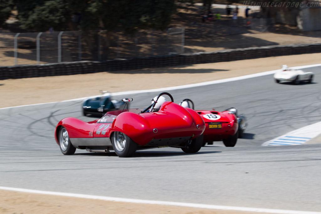 Devin Ryan Sports Roadster - Chassis: SR1957-001 - Driver: Robert Bodin  - 2016 Monterey Motorsports Reunion