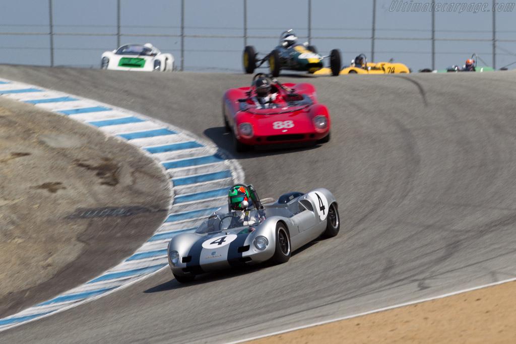 Elva Mk7 Porsche - Chassis: 70/069 - Driver: Gunnar Jeannette  - 2016 Monterey Motorsports Reunion