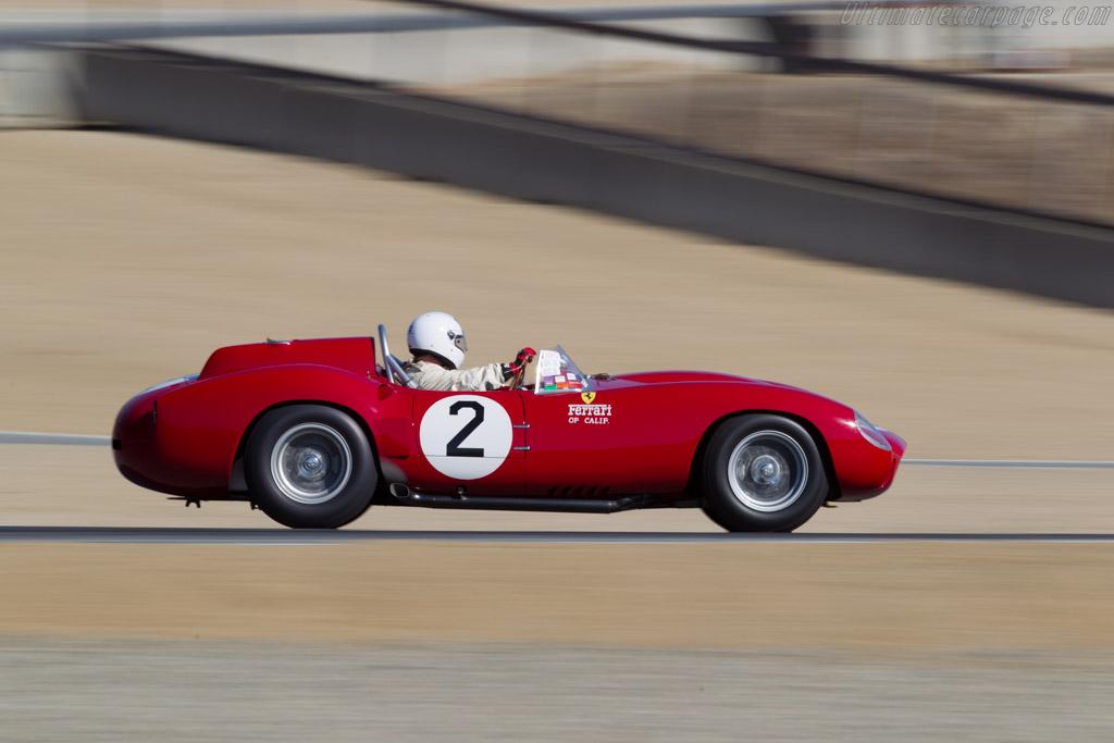Ferrari 412S - Chassis: 0744 - Driver: Chris Cox  - 2016 Monterey Motorsports Reunion