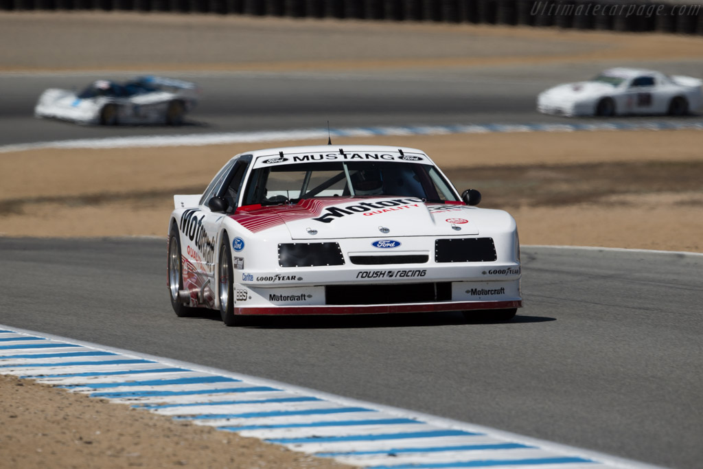 Ford Mustang - Chassis: 008 - Driver: Richard Dean  - 2016 Monterey Motorsports Reunion